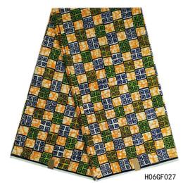 $enCountryForm.capitalKeyWord UK - 100% Cotton Hollandais Wax High Quality Ankara Fabric African Sewing Material Veritable Wax Hollandais Guaranteed Real Dutch Wax 6 yards pie