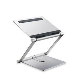macbook aluminium NZ - Portable Aluminum Alloy Lifting notebook Laptop Stand Holder For Macbook Air Pro Adjustable Computer Cooling Bracket
