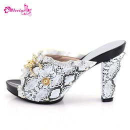 $enCountryForm.capitalKeyWord Australia - New Factory sale silver Evening Women African Summer Shoe For Parties High Quality Italian Ladies Shoes possible match Bag Set