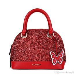Pink Sugao Designer Handbags Genuine Leather Shell Bag Glitter Luxury Brand  Handbag Women Tote Bag Designer Bags Purse Clutch Bags 879738b5ac33e