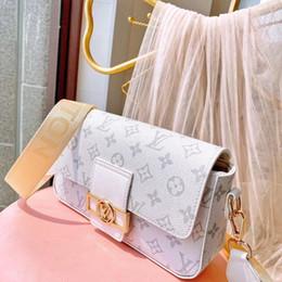 Wholesale leather lady messenger bag for women fashion satchel shoulder bag handbag Cross Body bag presbyopic package mobile phone purse on Sale
