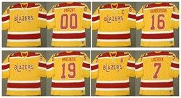 0b7cefdf8 Vintage Philadelphia Blazers Jersey 00 BERNIE PARENT 7 ANDRE LACROIX 16 DEREK  SANDERSON 19 JOHNNY McKENZIE Custom Any Name Number CCM Hockey