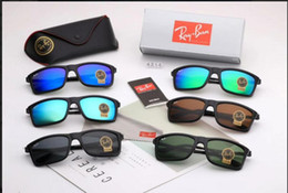 Colored Glasses Lenses Australia - Hot style recommends long-term stock Toughened glass colored film lens Color: color optional model: 4214 The man drives travel sunglasses to