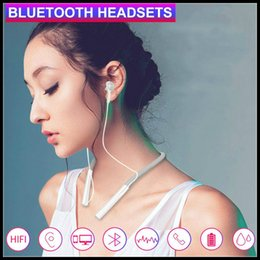 $enCountryForm.capitalKeyWord Australia - Wireless Headphone Bluetooth 5.0 headphone Neck-Mounted Earphones Sports Binaural HD HiFi Sound Magnetic Suction in-Ear Headset