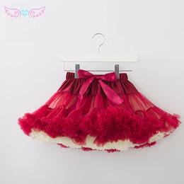 Baby Pettiskirts Tutus Australia - Multiple Colors Fluffy Chiffon Women Pettiskirts Baby Tutu Girls Skirts Princess Skirt Dance Wear Party Clothes Lolita Petticoat Y190428