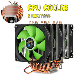 $enCountryForm.capitalKeyWord Australia - Dual Tower PC CPU Cooler 6 Copper Heat Pipes 3Pin Cooling Fan Cooler Heatsink Radiator for LGA 1150 1151 1155 1156 1366 775