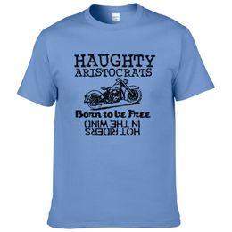 $enCountryForm.capitalKeyWord NZ - 2019 Mens Fashion T-shirt Short Sleeve Haughty Aristocrats Printed Shirt Men Motorcycle Tops Casual Cool Tees Hot Sale #167