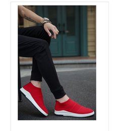 Discount new trend canvas shoe - Spring new summer breathable Korean version of the trend men's shoes canvas shoes men leisure a lazy shoes men