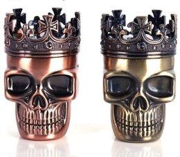 $enCountryForm.capitalKeyWord NZ - Ghost Head Smoke Grinder Creative Non-mainstream Metal Grinder Skull Head Brass Smoke Crusher