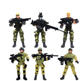 Game counters online shopping - Special Forces Doll Counter Strike Action Figure Soldier Joint Movable Combat Game Boys Suit be F1