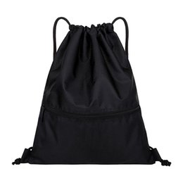1270bdd41 Nylon Waterproof Drawstring Bags Sports Riding Backpack Suitable For Adults  And Kids Holiday Swimming Beach-Large Size