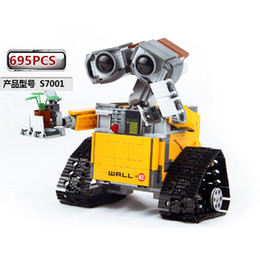 $enCountryForm.capitalKeyWord Australia - 687pc Toys For Children Compatible Creators 16003 Idea Robot Wall E Action Figures Building Block Birthday Gifts J190720