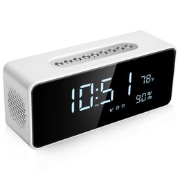 large led clock timer Australia - Fm Radio Alarm Clock With 8 inch Dimmable Large Led, Usb Charger Port, Rechargeable Battery Backup, Sleep Timer, Adjustable Vo