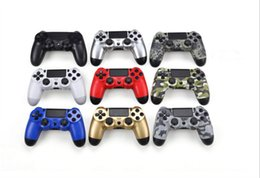 Station Wireless Controllers NZ - 18 Colors Available Bluetooth 4.0 Wireless Controller for PS4 Vibration Joystick Gamepad PS4 Game Controller for Sony Play Station 4