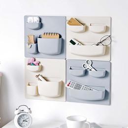 Plastic Storage Organizer Wall Australia - Plastic Kitchen Bathroom Tool Storage Organizer Door Cabinet Ledge Kitchen Accessories Bathroom Wall-mounted Portable Storage Supplies