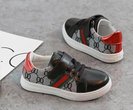 $enCountryForm.capitalKeyWord Australia - Spring Summer Arrive Fashion Designer Children's Shoes Kids Casual Style Shoes Baby Boys Korean Stitching Pattern Shoes