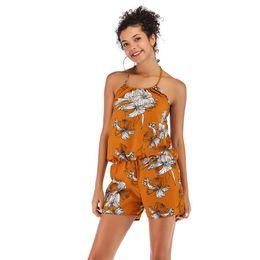 Womens Jumpsuits Arrivals Australia - Fashion Designer Womens Jumpsuits 2019 New Arrival Short Length Womens Rompers Sleeveless Women Summer Jumpsuits Size M-XL