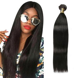Double Weave Australia - Brazilian Virgin Human Hair Straight Remy Hair Weaves Double Wefts 100g Bundle Unprocessed Hair Extension 1bundle lot Can be Dyed Bleached