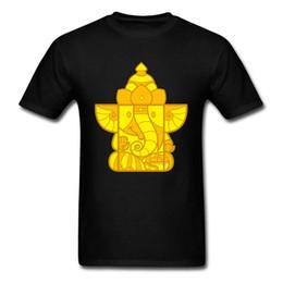 $enCountryForm.capitalKeyWord Australia - Indian Chic 2019 Men Black Tops & Tees Ganesha Box Toy Cartoon Digital Print Male Family Custom Gift T-shirt Cute Tshirt