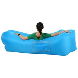 $enCountryForm.capitalKeyWord UK - Inflatable Lounge Self-inflating Sleeping Couch Air Sofa for Backyard Lakeside Beach Camping Picnic Inflatable Sofa Summer