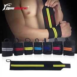 Pink Wrist Strap Australia - Men Sports Adjustable Wristbands Weightlifting Wrist Support Straps Fitness Training Powerlifting Bar Grip Barbell Wrist Straps