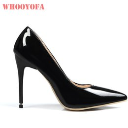 Hot Sexy White Dresses Australia - Dress Brand New Hot Sale Glamour Red Pink Women Nude Dress Pumps Black Sexy 4 Inch Heels Lady Bridal Shoes W813 Plus Big Size 10 43 47