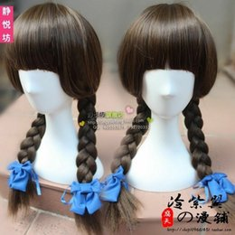 $enCountryForm.capitalKeyWord Australia - 100% New High Quality Fashion Picture full lace wigs<< Wadanohara And The Great Cosplay Hansenne twin tail Wig hair
