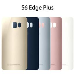 $enCountryForm.capitalKeyWord Australia - For Samsung Galaxy S6+ G9280 Back Battery Door Housing Cover Case S6 edge plus Battery Cover No Lens
