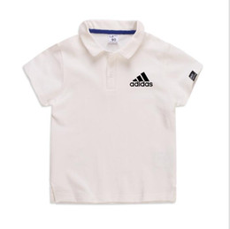 Small Fat UK - Fat boy summer new big boy plus fat large size loose cotton short sleeves have a collar small fat POLO shirt 2-7T