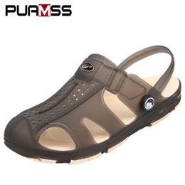 aebd1ed18295 Jelly Shoes Men NZ - 2019 New Men Sandals Summer Jelly Shoes Men Beach  Sandals Slippers
