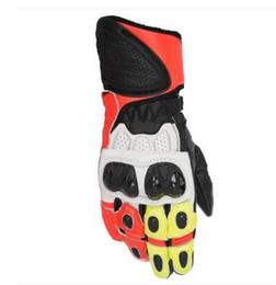 $enCountryForm.capitalKeyWord Australia - GP Plus R Leather Motorcycle Sport Bike Street Motorbike Racing Mens Gloves Orange