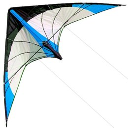 $enCountryForm.capitalKeyWord Australia - Outdoor Fun Sports New 48 Inch Dual Line Stunt Kites Blue parafoil Good Flying