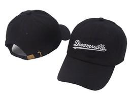 16c308c04dc Black Dreamville J cole Designer Curved Visor Hip Hop Snapback Hats Men  Summer Cotton Baseball Cap Women Outdoor Peaked Cap Sports dad hat