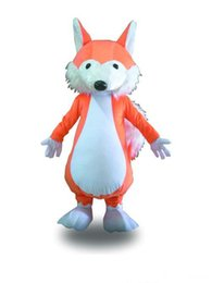fox animal mascot costume Canada - 2019 Factory Outlets hot orange fox doll Fancy Dress Cartoon Adult Animal Mascot Costume free shipping