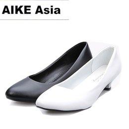 $enCountryForm.capitalKeyWord NZ - 2019 2018 Women Shoes Pointed Toe Pumps Suede Leisure Dress Shoes High Heels Boat Wedding tenis feminino Matt 5cm 4cm