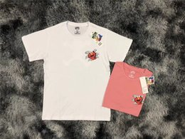 Camping Products Australia - 19SS New product listing UNQ Xi KAWS Cartoon characters Men Women Spring Summer Sleeves Outdoor Streetwear T-shirt
