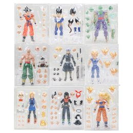 figure dragon ball collection 2019 - Toys Hobbies Action Toy Figures 16cm Dragon Ball Z Son Goku Super Saiyan Vegetto Goku Black Trunks Piccolo PVC Action Fi