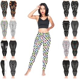 $enCountryForm.capitalKeyWord Australia - Women Leggings Mix 16 Styles Xmas Christmas Lights Faces Pumpkin Painted Spots Barcode Arrows Symbols Scars Moon Arc 3D Print Pants (Y226)
