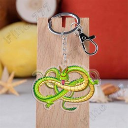 Keychain Dragon Australia - 154 style Hottest Dragon Ball acrylic double-sided transparent keychain Dragon Ball pendant cute keychain children's gift Collecting toys