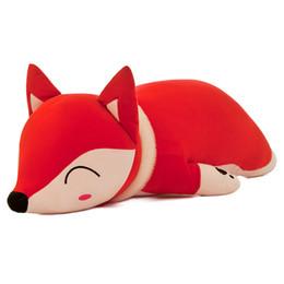 China 35  50 Cm Kawaii Dolls Puffs & Pluche Toys For Girls Children Boys Toys Pluche Kisses Fox Stuffed Animals Knuffel Pop cheap puff toy suppliers