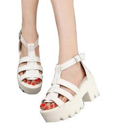 6da016d3862 Hot Sale-HEE GRAND 2018 Korean Women Platform Shoes Gladiator Woman Sandals  Summer Hollow Out Weave Ladies Sandal XWZ939