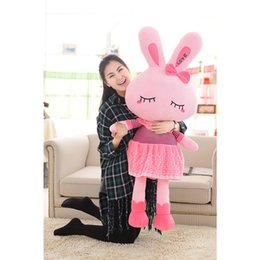cartoon make toys NZ - The 2019 plush toy;The lovely pink rabbit can be used as a pillow;cheap;Loved by girls;Children's day gifts