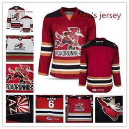 Ahl jerseys online shopping - Custom Men s women youth Tucson Roadrunners  Andrew Campbell Hunter Miska 3401cf48623