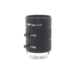 $enCountryForm.capitalKeyWord UK - HD 10MP CCTV Camera Lens 16mm F1.4 Aperture Mount C for CCTV Camera or Industrial Microscope road monitoring