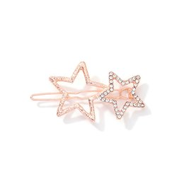 $enCountryForm.capitalKeyWord Australia - Minimalist Decorative Metal Gold Star Hair Sticks Hairpins Shawl Pins Long Forks Chopsticks Clips Barrettes