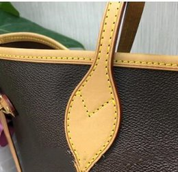 $enCountryForm.capitalKeyWord Australia - Free hot stamping high quality 2019 free ship NEVER shoul FULLj cowhide eather handbags color leather shopping bag Never single shoulder bag