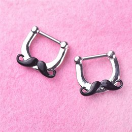 Nose Piercing Women Australia - 20pcs Alloy Nose Ring Silver Plated Nose Lip Nasal Shaped Fashion Body Piercing Jewelry For Women Best Gifts