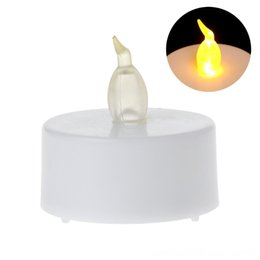 battery operated animals UK - Flameless LED Tealight Dcor Tea Light Battery Operated For Wedding Party 634E Flameless LED Tealight Candles Home Dcor Tea Candles Light Bat