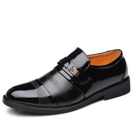 Mens Wedding Dress Shoes UK - Men s Wedding Dress Shoes Leather Shoes Mens Dress Shoe Oxford Business Formal Office Shoes hombre Sneakers