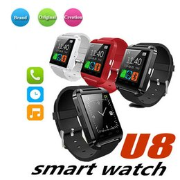 $enCountryForm.capitalKeyWord Australia - Bluetooth Smart Watch U8 Wireless Bluetooth Touch Screen Smart Watch with SIM Card Slot for Android IOS Phone smart watch for men